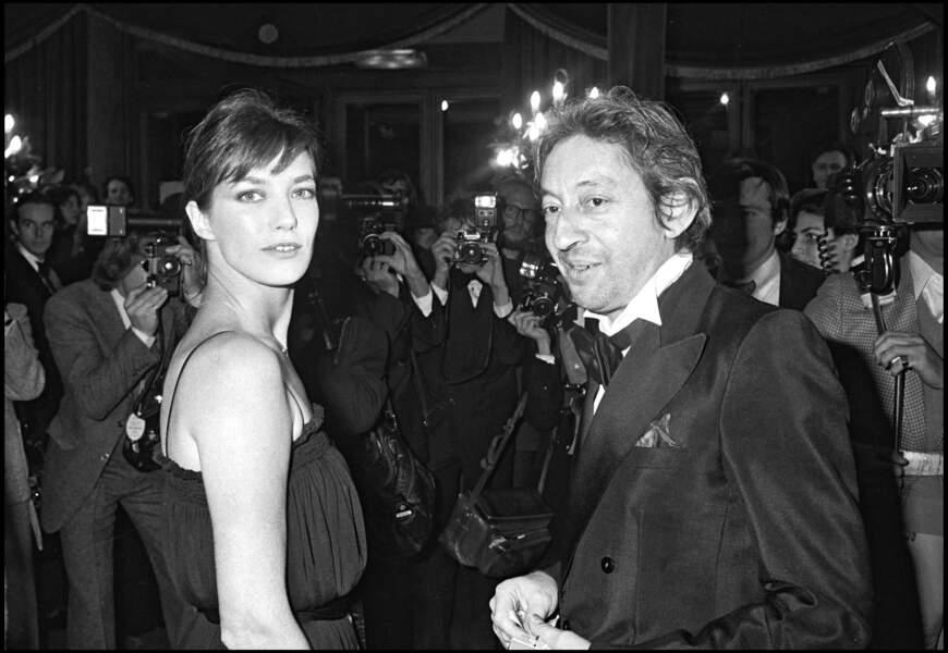 Jane Birkin et Serge Gainsbourg ont une fille, Charlotte Gainsbourg, née en 1971