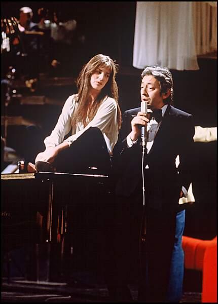 Jane Birkin chante avec Serge Gainsbourg