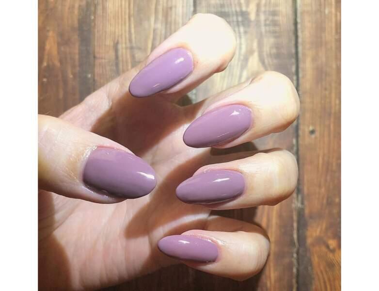 Le violet clair tendance