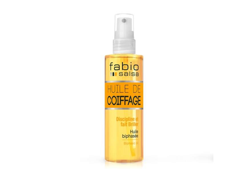 L'huile de coiffage Fabio Salsa