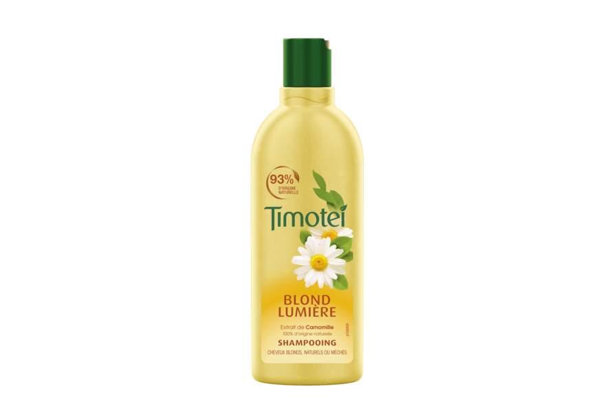 Le shampooing blond lumière Timotei