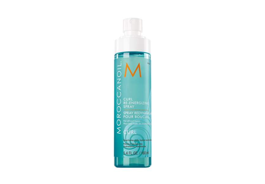 Le spray redynamisant boucles Moroccanoil
