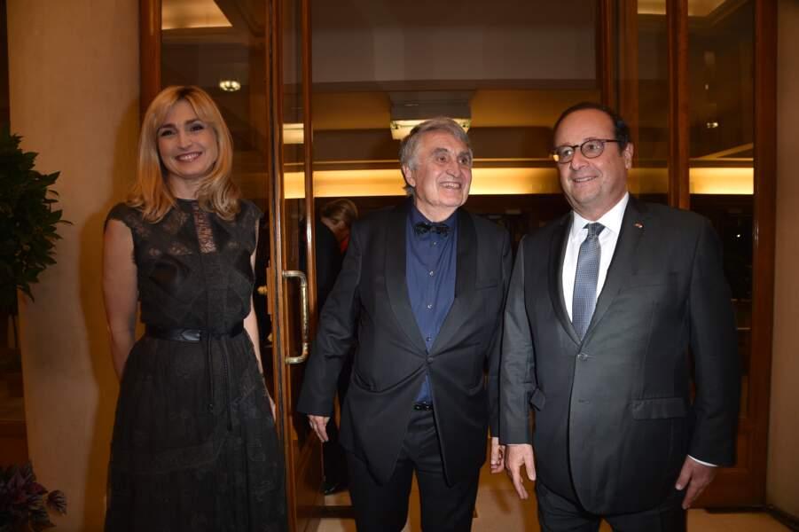 Julie Gayet, Jean-Loup Arnaud et François Hollande
