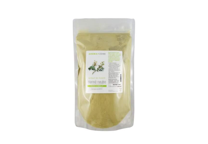 L'extrait de plante Henné Neutre Aroma-zone