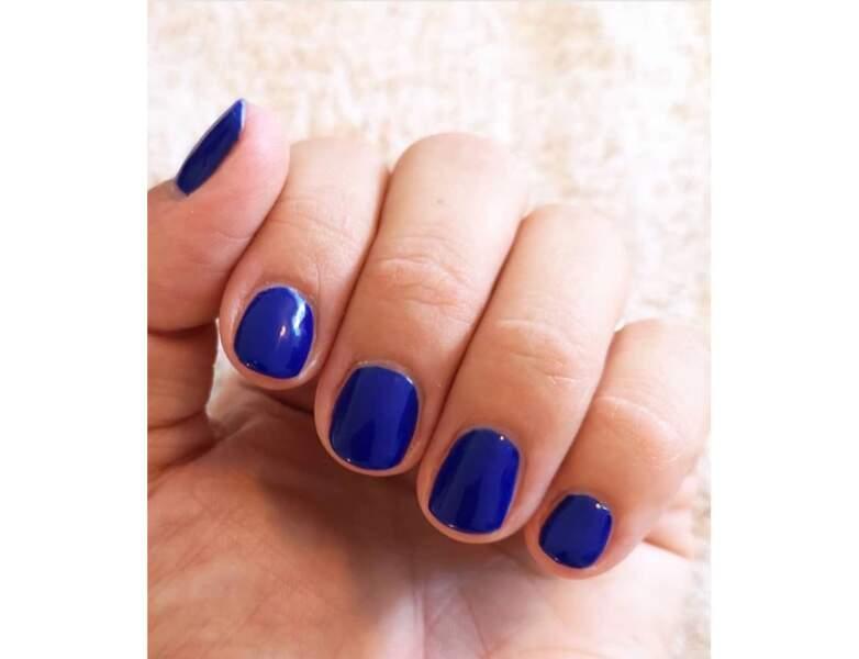 Le bleu électrique
