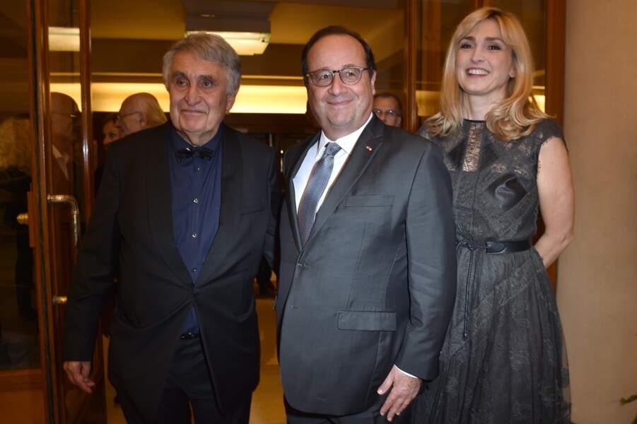 Jean-Loup Arnaud, François Hollande et Julie Gayet
