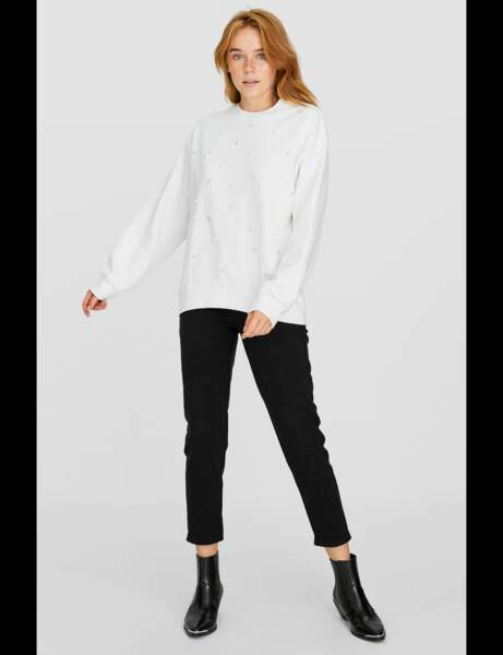 Tendance sweat-shirt : raffiné