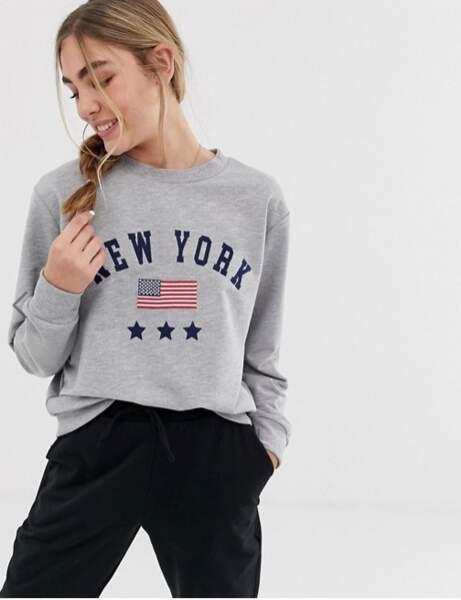 Tendance sweat-shirt : American dream