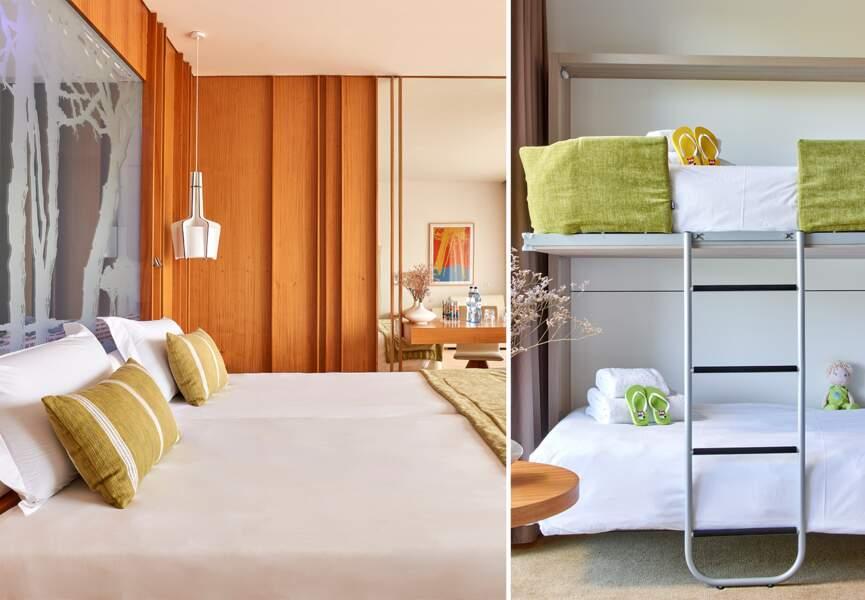 Martinhal Cascais Family Hotel : des chambres élégantes et adaptées