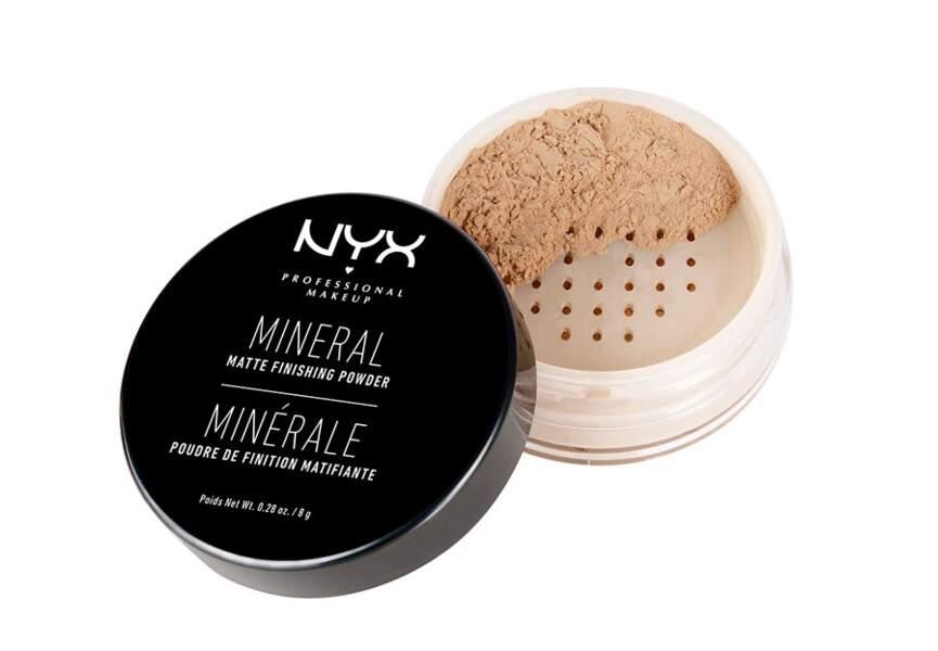 La poudre de finition matifiante minérale Nyx