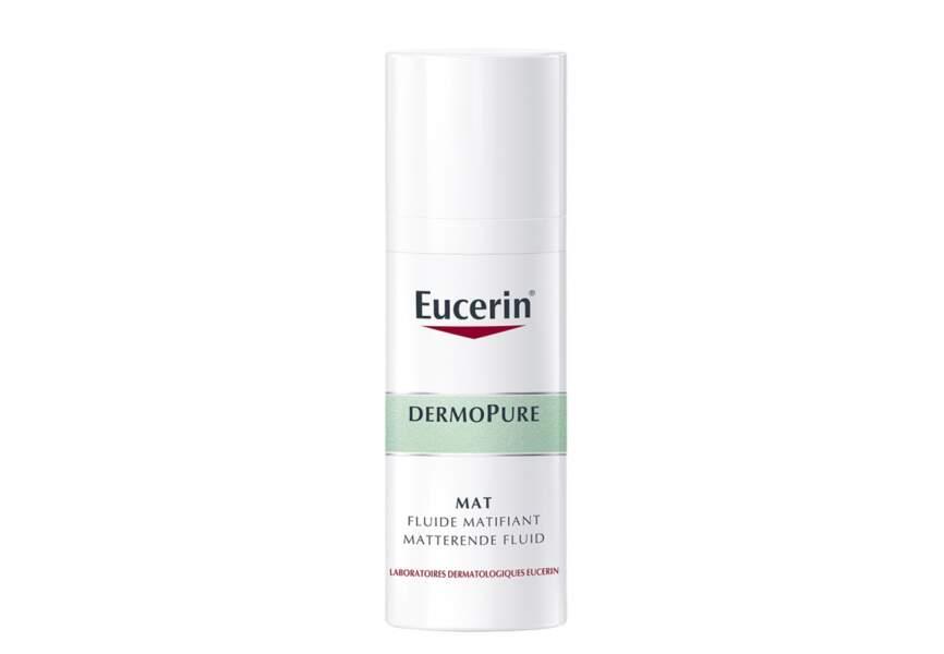 Le fluide matifiant dermopure Eucerin