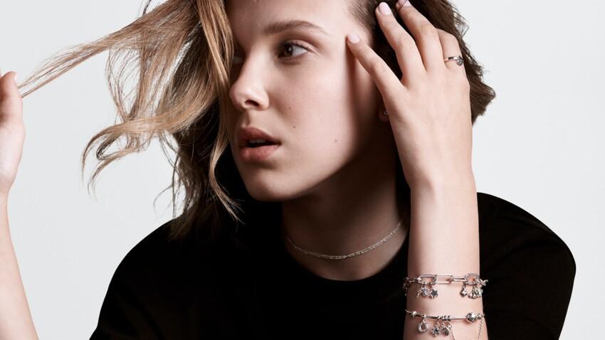 Pandora dévoile ses nouveaux bijoux avec son égérie Millie Bobby Brown