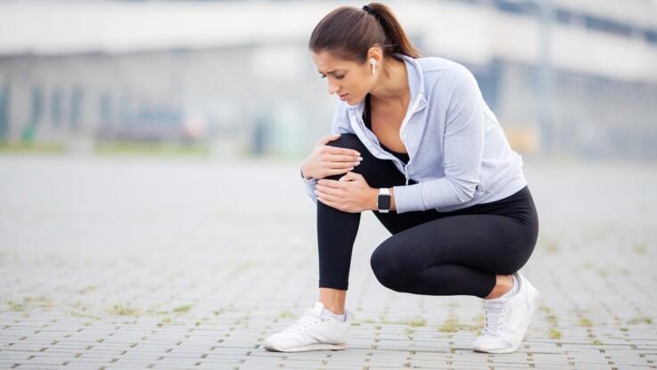 Douleur derrière le genou : 3 causes possibles : Femme ...