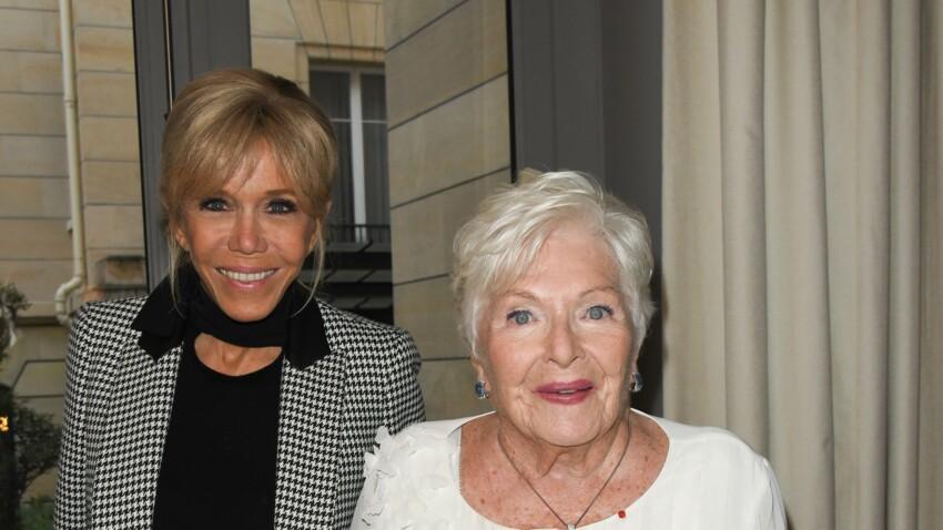 Line Renaud victime d'un AVC : sa première apparition avec Brigitte Macron et Claude Chirac depuis le drame