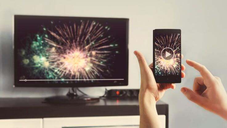 Photos, vidéos… Comment projeter l'écran de mon smartphone sur ma télé ?