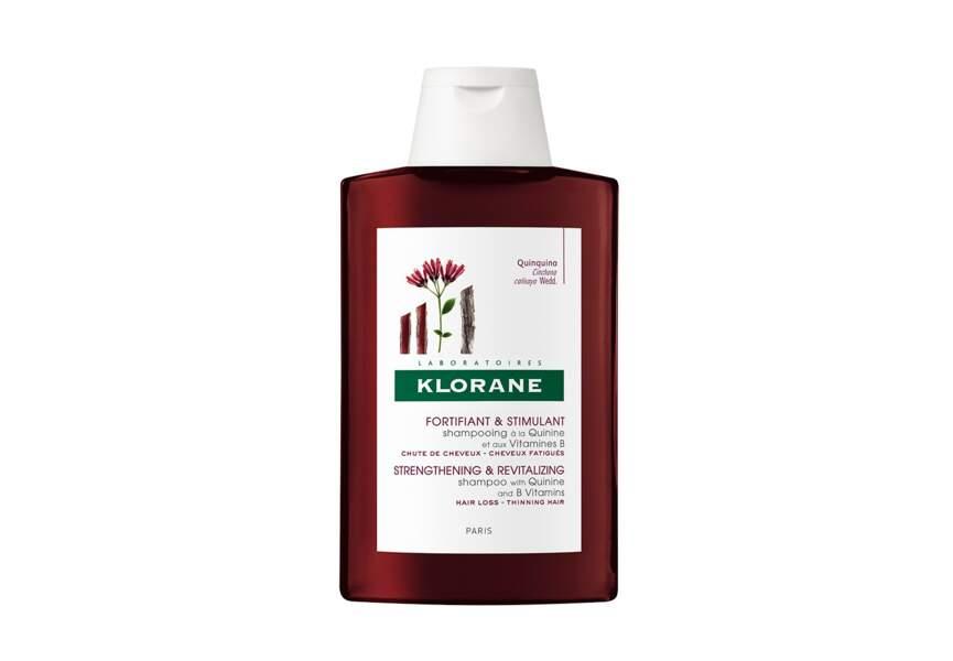 Le shampooing fortifiant et stimulant Klorane