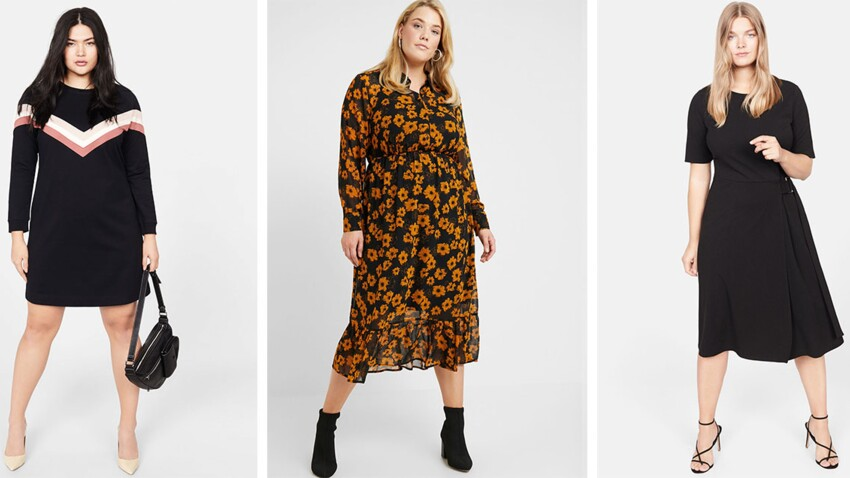 Mode ronde : 20 robes canons pour cet automne !