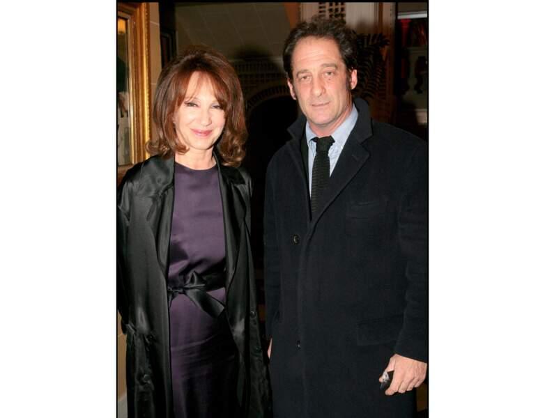 En 2008, là voici avec Vincent Lindon