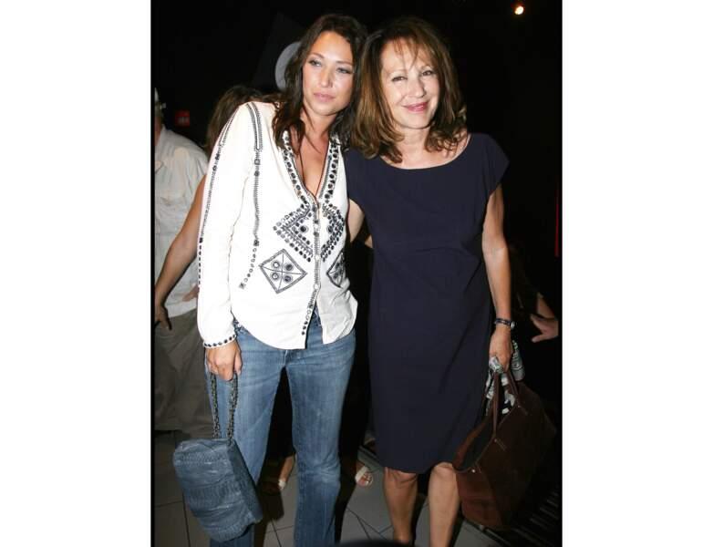 Nathalie Baye et sa fille Laura Smet en 2010