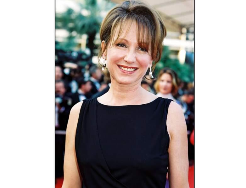 2000 : Nathalie baye est superbe au Festival de Cannes