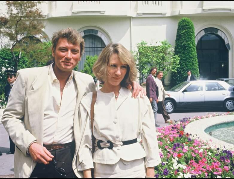 1984 : Nathalie Baye affiche une mine radieuse et un blond éclatant