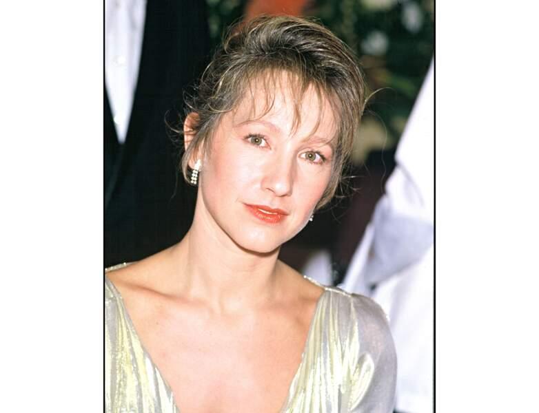 Nathalie Baye en 1985, elle est superbe et a 37 ans