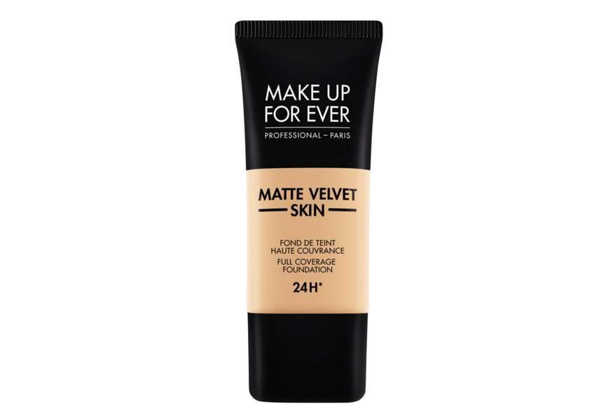Le fond de teint Matte Velvet Skin Make Up For Ever