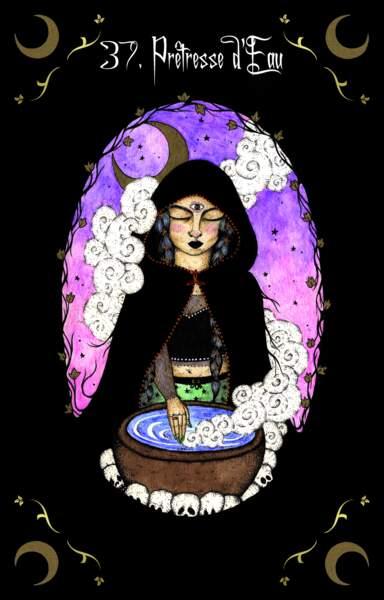 37- Prêtresse d'Eau