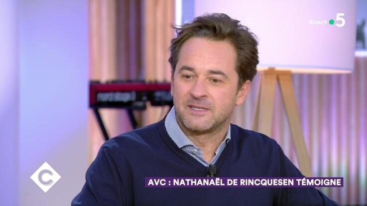 Vidéo -Nathanaël de Rincquesen victime d'un AVC, raconte comment sa compagne lui a sauvé la vie