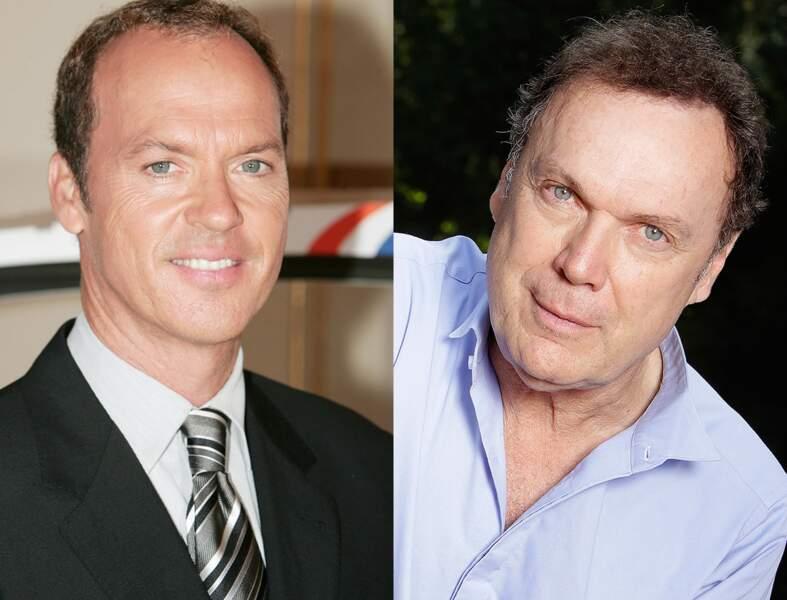 La ressemblance est moins frappante depuis que Michael Keaton a perdu ses cheveux