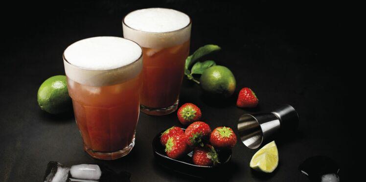 Cocktail de bière «l'été indien»