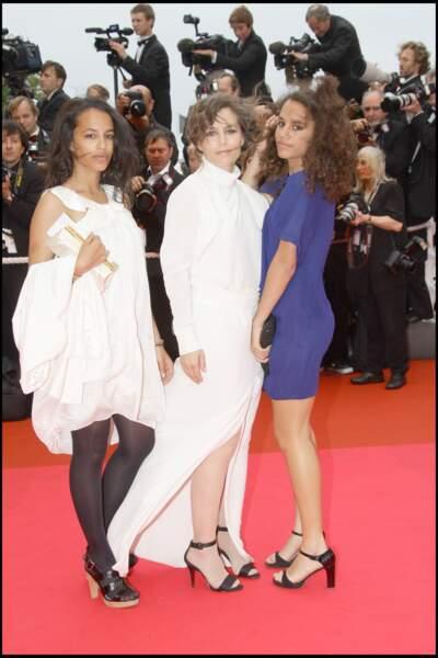 Sophie Duez et ses filles Rose et Lucile