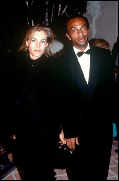 Sophie Duez et Manu Katché en 1989