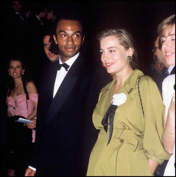 Le Festival de Cannes 1988 a vu arrivée Sophie Duez et Manu Matché plus amoureux que jamais