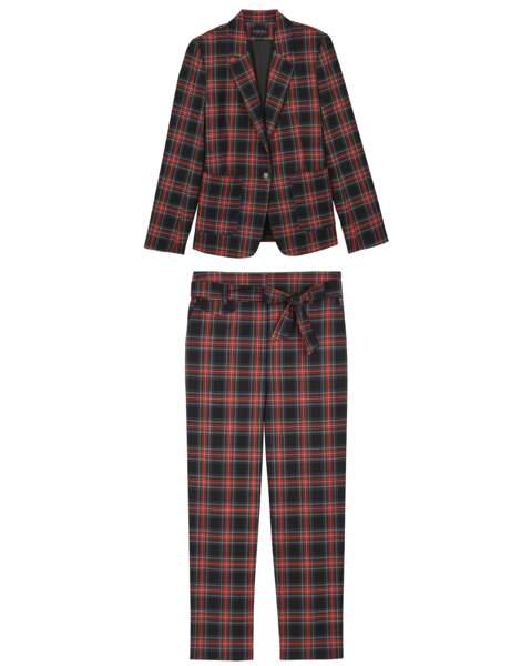 Tendance néo-bourgeoise : le tailleur tartan