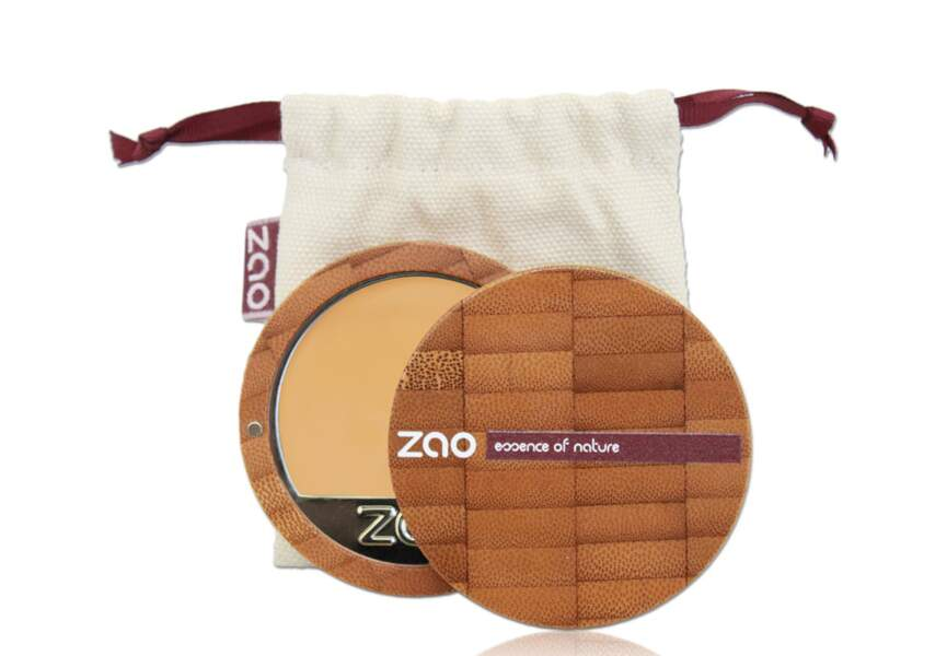 Le fond de teint compact Zao