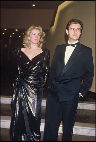 Catherine Deneuve et Pierre Lescure