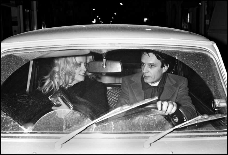 Dans les années 1980, l'actrice connaît une idylle avec l'homme d'affaires Bertrand de Labbey, son agent.