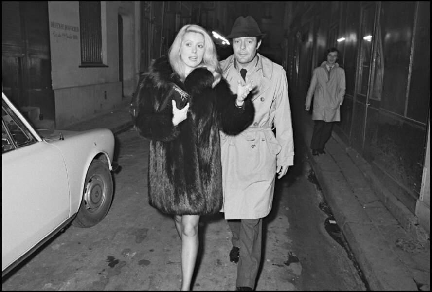 Au début des années 1970, Catherine Deneuve fait la rencontre de l'acteur italien Marcello Mastroianni sur le tournage de Liza, de Marco Ferreri.