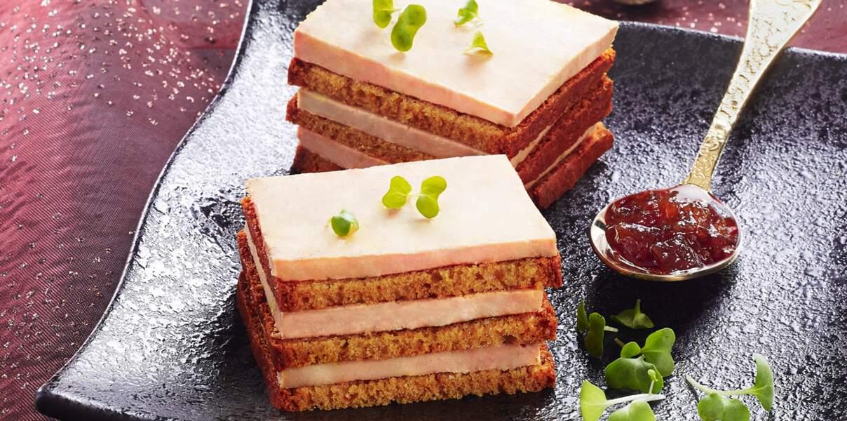 Opéra de foie gras et pain d'épice