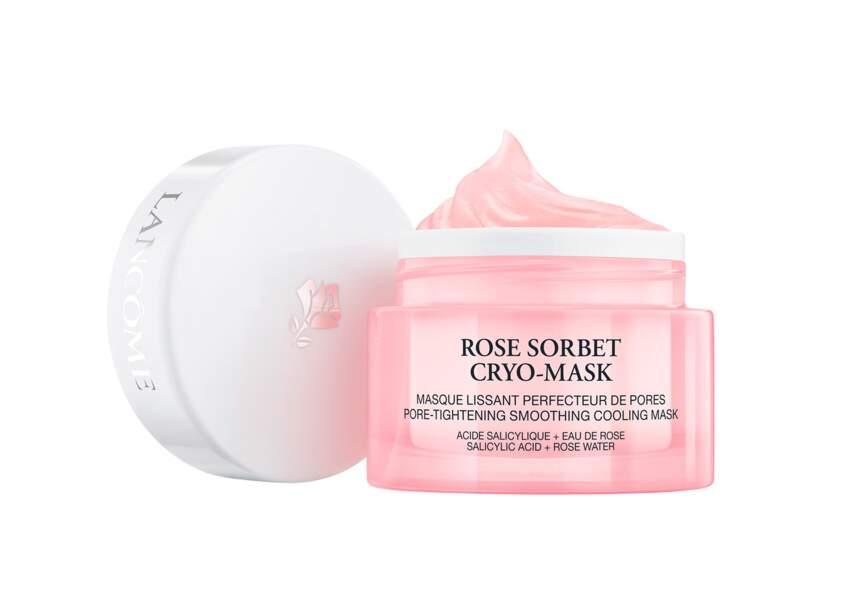 Le masque Rose Sorbet Cryo Mask Lancôme