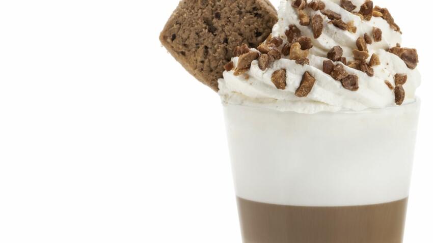 Latte cacahuète cookie
