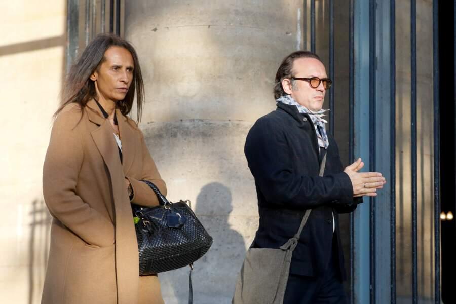 ... Karine Silla et son mari Vincent Perez...