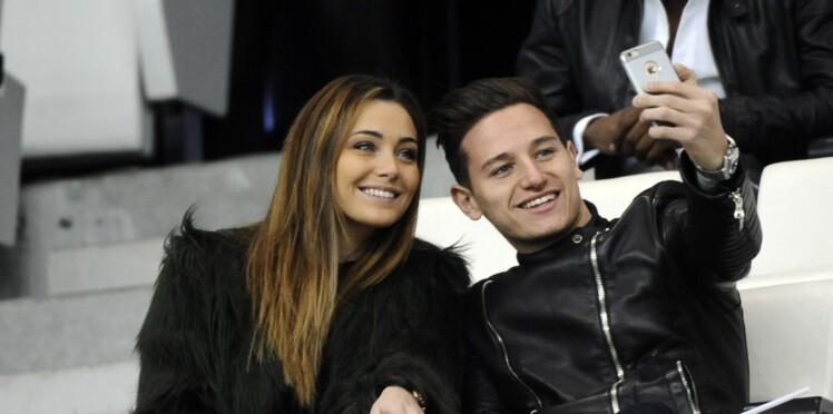 Le joueur de l'équipe de France Florian Thauvin et l'ex-Miss Charlotte Pirroni attendent leur premier enfant