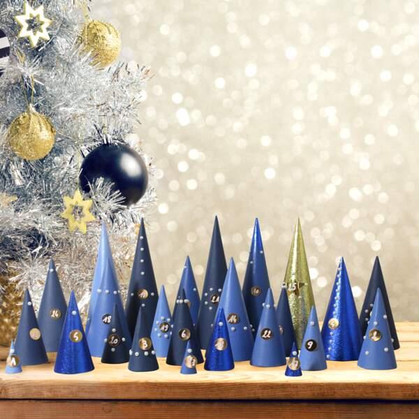 Tuto de Noël super facile : le calendrier de l'avent en papier