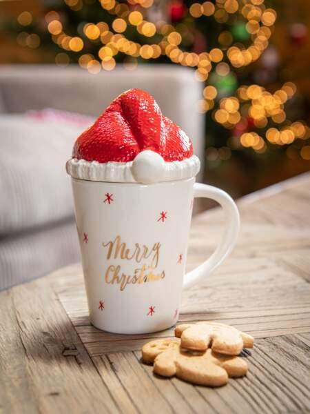 Mug de Noël en porcelaine