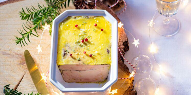 Terrine de foie gras au cognac et au quatre-épices