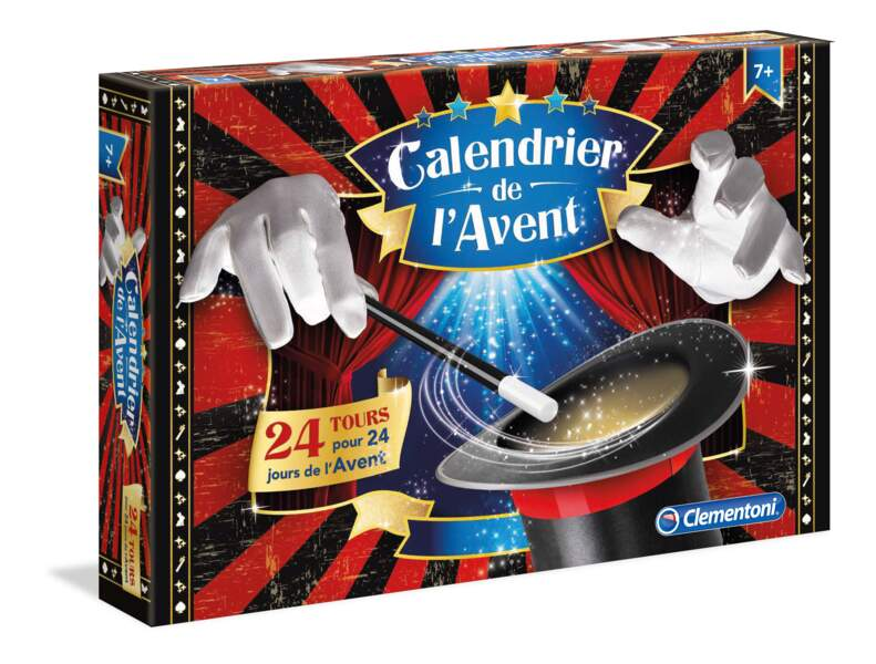 Le calendrier des petits magiciens - Clementoni