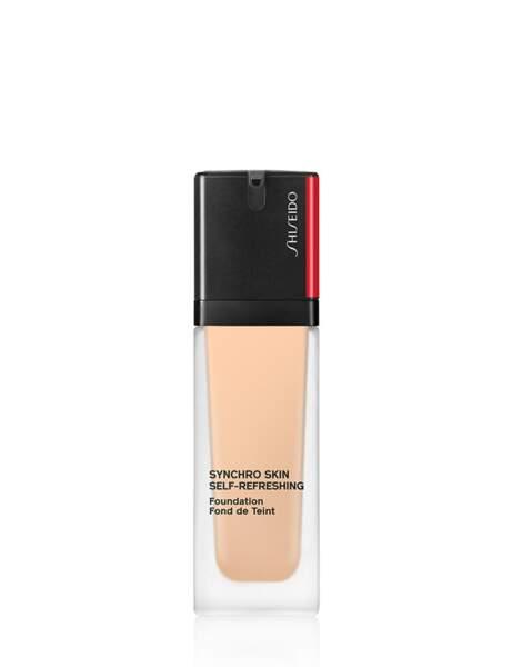 Le fond de teint fluide de Shiseido