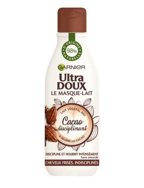 Ils sont frisés : Masque-lait ultra-doux au cacao disciplinant, Garnier